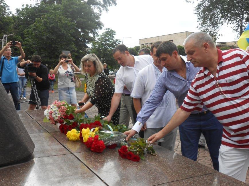 Ко Дню Конституции в Днепродзержинске состоялся торжественный митинг (фото) - фото 8