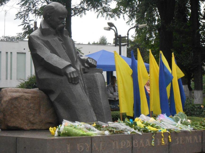 Ко Дню Конституции в Днепродзержинске состоялся торжественный митинг (фото) - фото 18