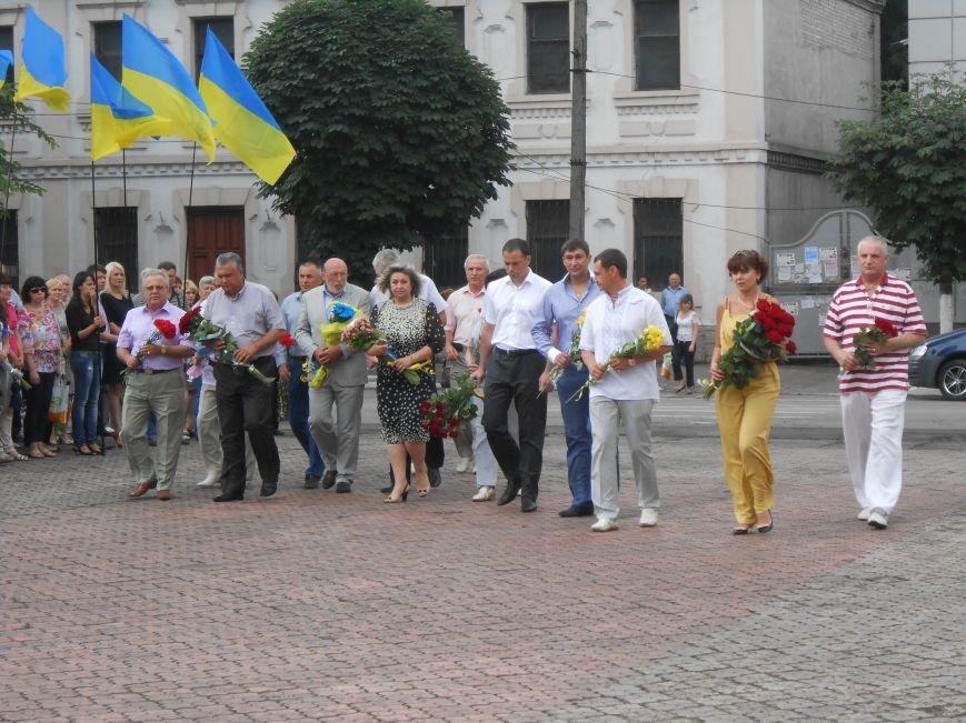 Ко Дню Конституции в Днепродзержинске состоялся торжественный митинг (фото) - фото 7