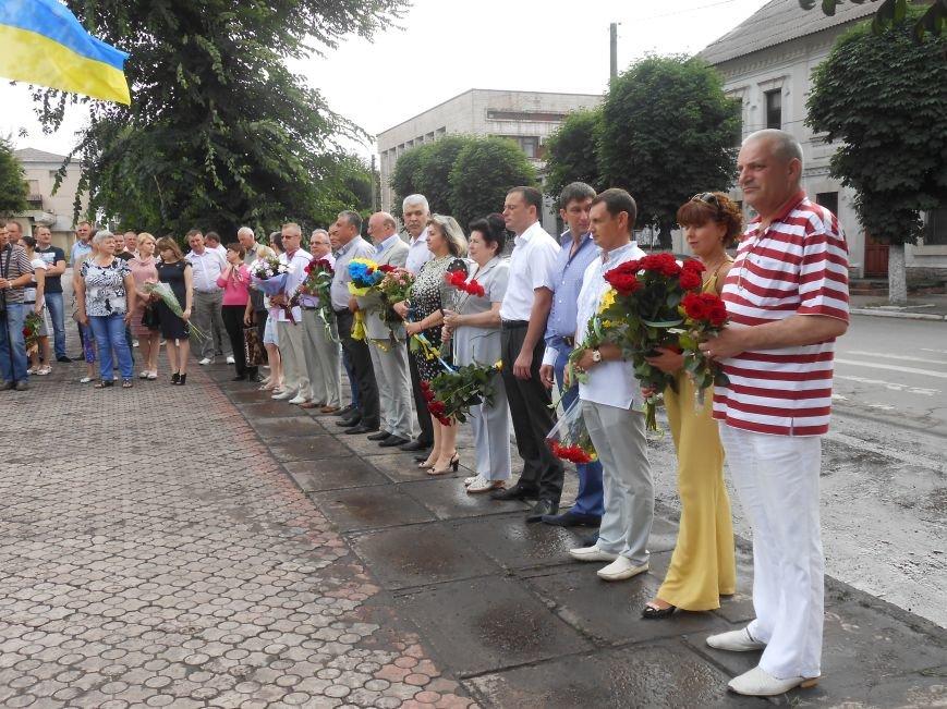 Ко Дню Конституции в Днепродзержинске состоялся торжественный митинг (фото) - фото 3