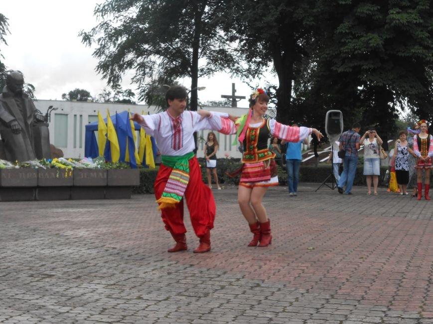 Ко Дню Конституции в Днепродзержинске состоялся торжественный митинг (фото) - фото 11