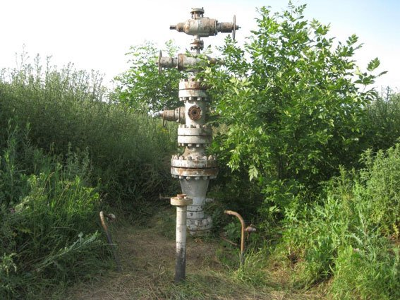 На Полтавщине на запчасти разобрали газоконденсатную скважину (фото) - фото 2