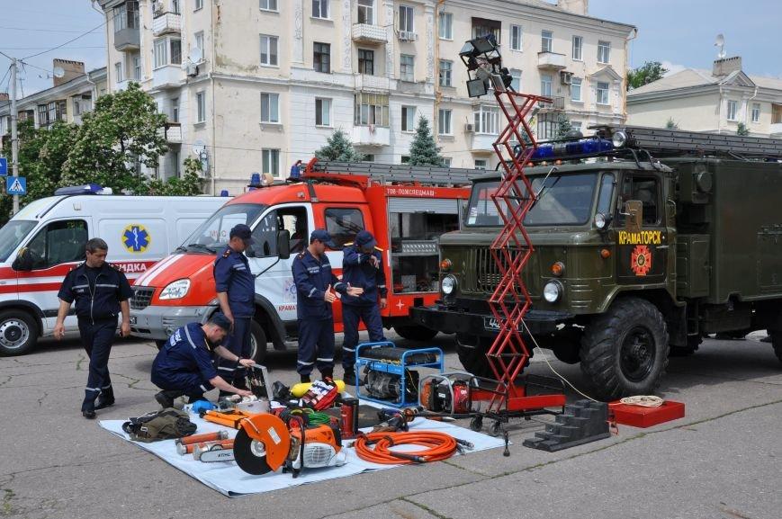 На центральной площади Краматорска состоялось мероприятие посвященное Дню Конституции (ФОТО и ВИДЕО), фото-10