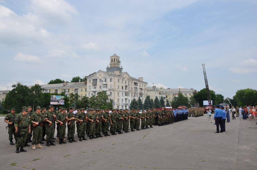 На центральной площади Краматорска состоялось мероприятие посвященное Дню Конституции (ФОТО и ВИДЕО), фото-19