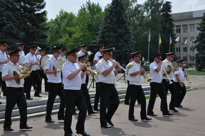 На центральной площади Краматорска состоялось мероприятие посвященное Дню Конституции (ФОТО и ВИДЕО), фото-12