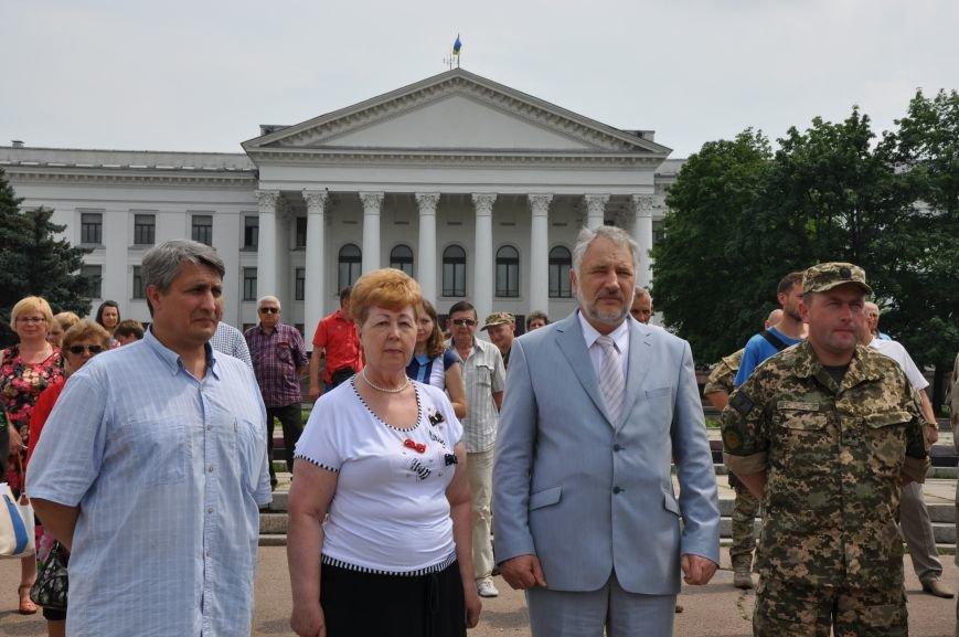 На центральной площади Краматорска состоялось мероприятие посвященное Дню Конституции (ФОТО и ВИДЕО), фото-20