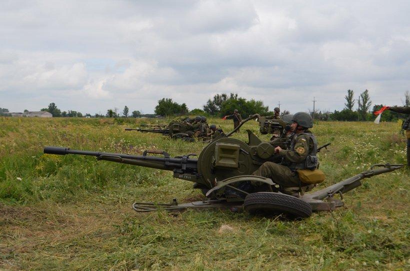 На учениях в Кривом Роге бойцы Нацгвардии успешно поразили наземные и воздушные цели (ФОТО), фото-6