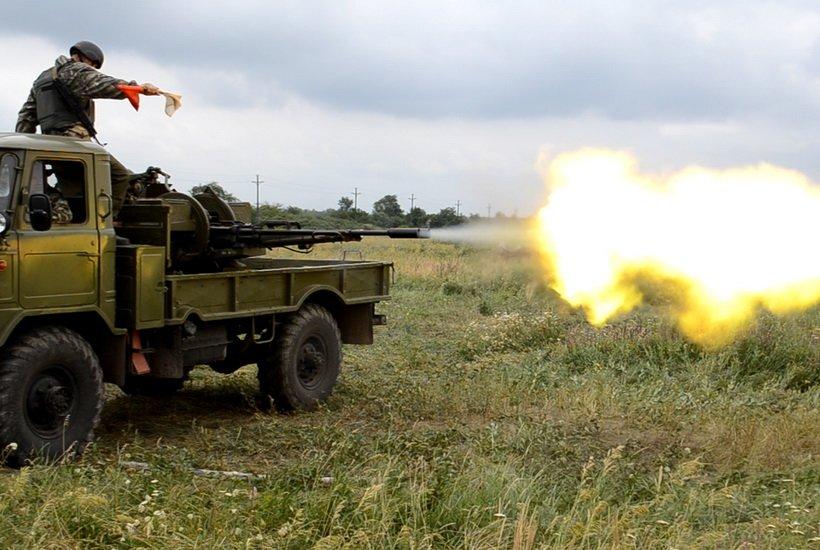 На учениях в Кривом Роге бойцы Нацгвардии успешно поразили наземные и воздушные цели (ФОТО), фото-1