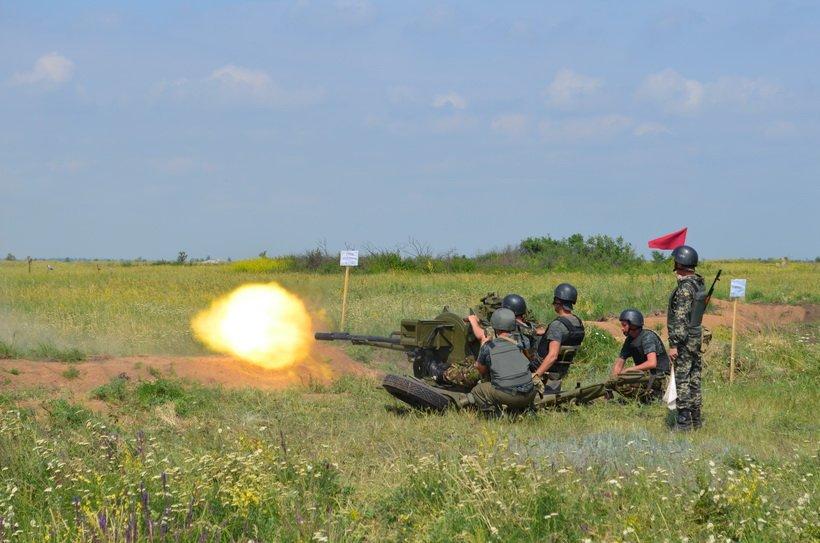На учениях в Кривом Роге бойцы Нацгвардии успешно поразили наземные и воздушные цели (ФОТО), фото-4