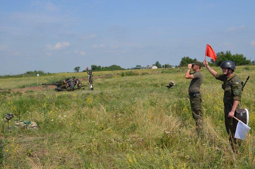 На учениях в Кривом Роге бойцы Нацгвардии успешно поразили наземные и воздушные цели (ФОТО), фото-3