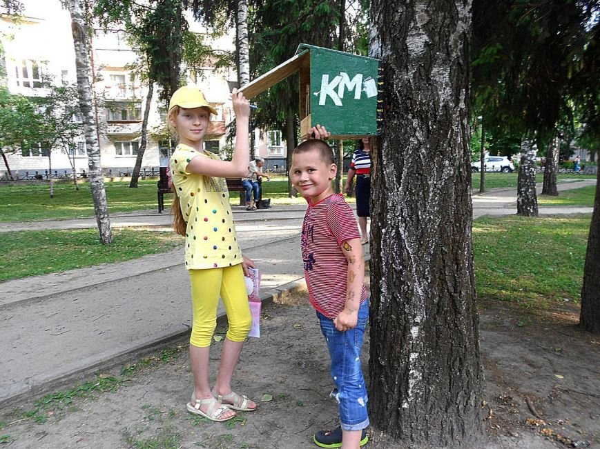 У Полтаві відкрили третю вуличну бібліотеку (фото) - фото 1