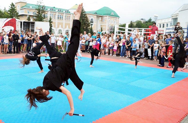 В Белгороде провели Олимпийский день (фото) - фото 1