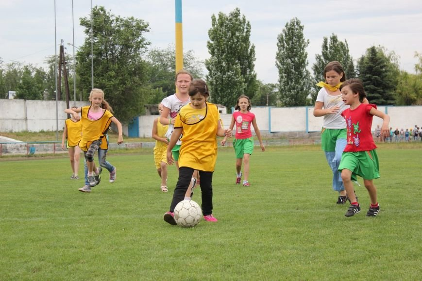 Школьники Димитрова завершили лагерную смену футбольным турниром (ФОТО), фото-7
