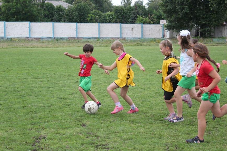 Школьники Димитрова завершили лагерную смену футбольным турниром (ФОТО) (фото) - фото 16