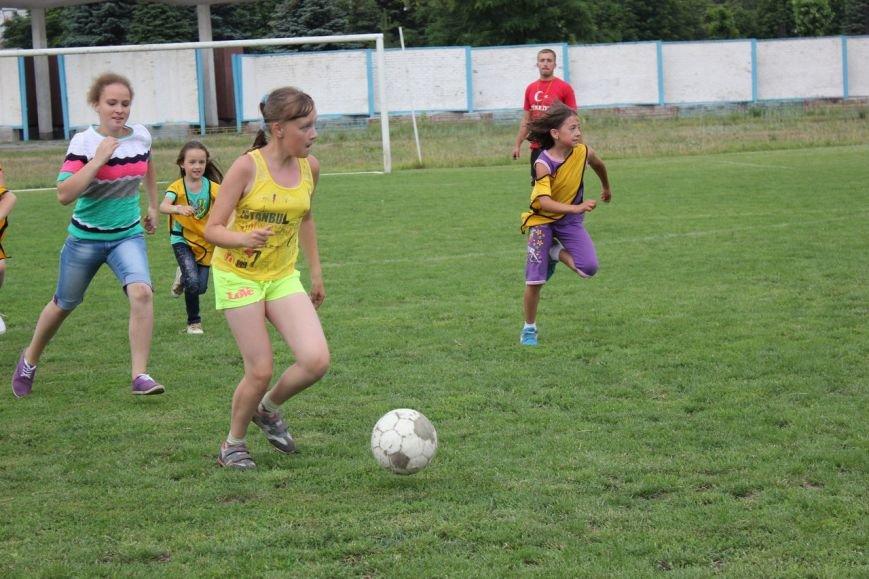 Школьники Димитрова завершили лагерную смену футбольным турниром (ФОТО) (фото) - фото 10