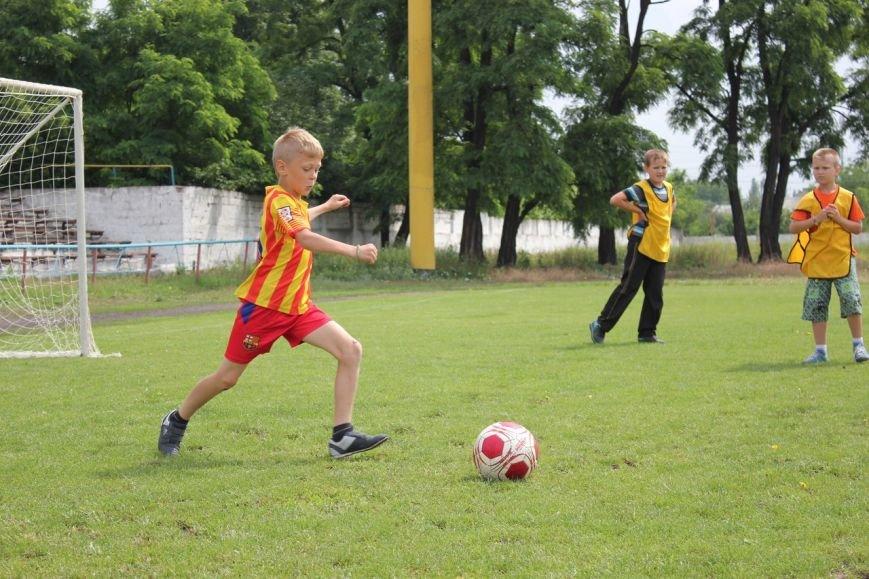 Школьники Димитрова завершили лагерную смену футбольным турниром (ФОТО) (фото) - фото 9