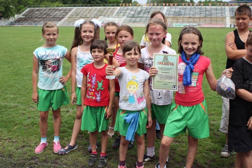 Школьники Димитрова завершили лагерную смену футбольным турниром (ФОТО) (фото) - фото 13