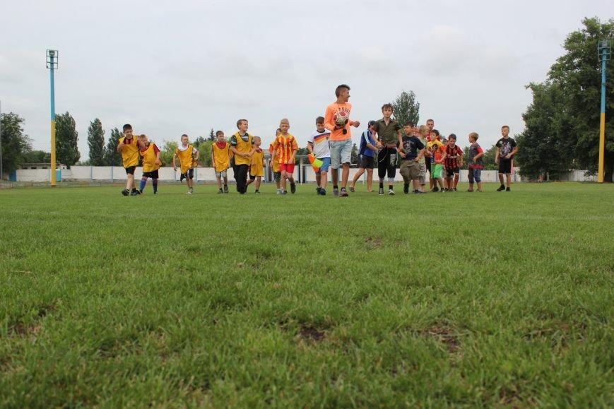 Школьники Димитрова завершили лагерную смену футбольным турниром (ФОТО), фото-1