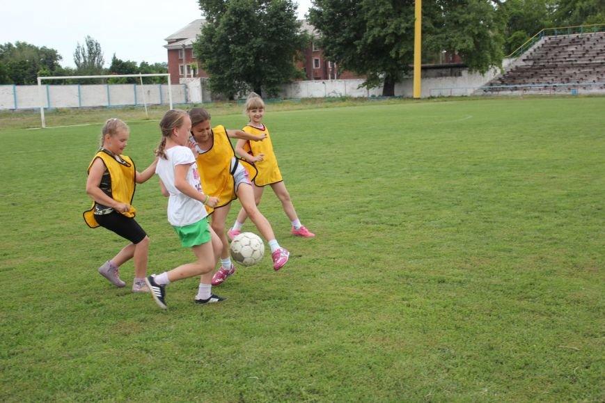 Школьники Димитрова завершили лагерную смену футбольным турниром (ФОТО), фото-2