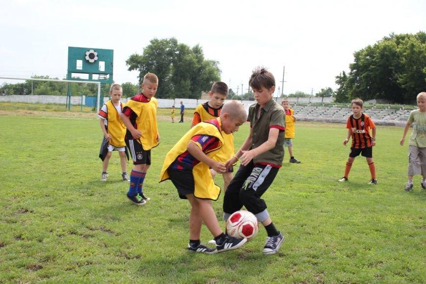 Школьники Димитрова завершили лагерную смену футбольным турниром (ФОТО) (фото) - фото 3