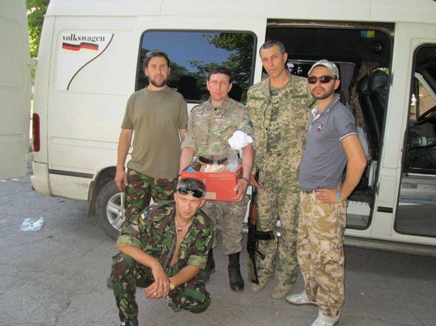 Волонтеры Николаевщины вернулись из зоны АТО (ФОТО), фото-5