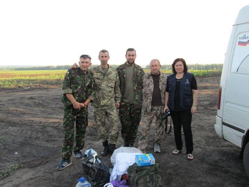 Волонтеры Николаевщины вернулись из зоны АТО (ФОТО), фото-6