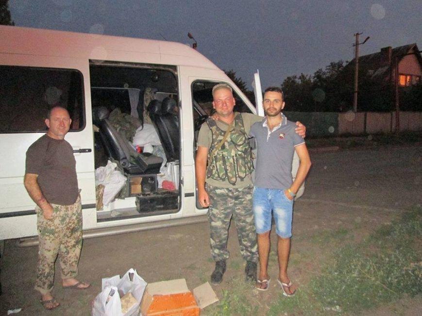 Волонтеры Николаевщины вернулись из зоны АТО (ФОТО), фото-8