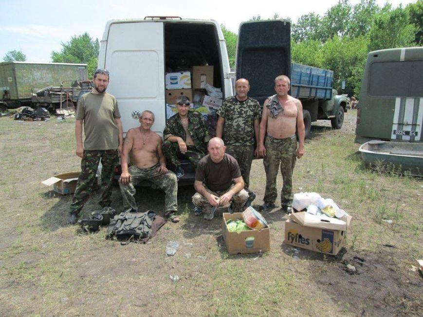 Волонтеры Николаевщины вернулись из зоны АТО (ФОТО), фото-3