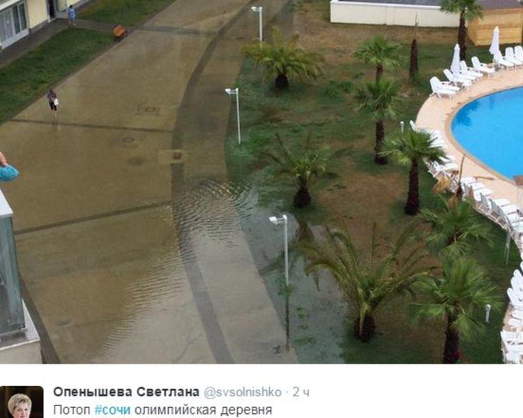 В затопленном Сочи оказалась ульяновская чиновница (фото) - фото 1