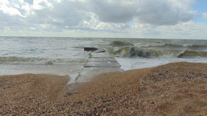 В Мариуполе море угрожает посетителям пляжей (ФОТОФАКТ) (фото) - фото 1