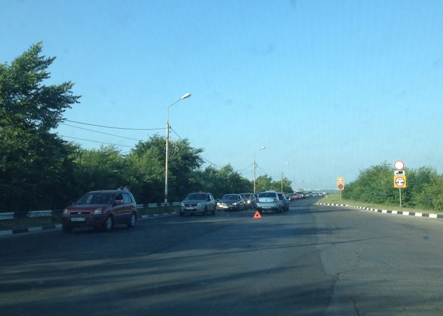 ДТП на Императорском мосту (фото) - фото 3
