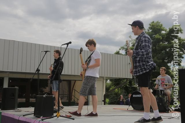 День молодежи в Новобелицком и Центральном районе Гомеля (фото) - фото 11