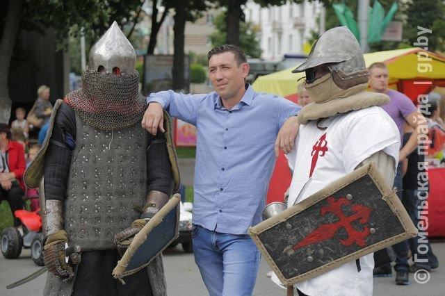 День молодежи в Новобелицком и Центральном районе Гомеля (фото) - фото 9
