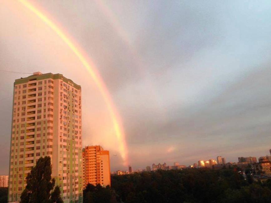 В небе над столицей видели двойную радугу (ФОТО) (фото) - фото 1