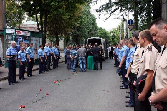 В Одессе простились с погибшим милиционером (ФОТО) (фото) - фото 1