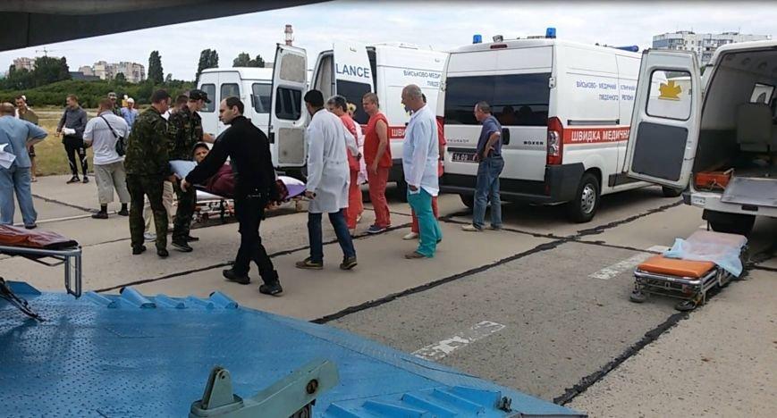 В Одессу с фронта доставили тяжелораненых бойцов (ФОТО) (фото) - фото 1
