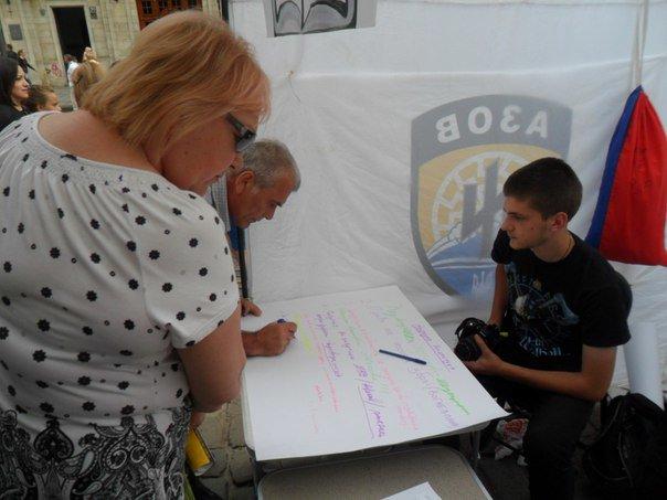 Львів'яни просто неба писали народну Конституцію (ФОТО+ВІДЕО), фото-2