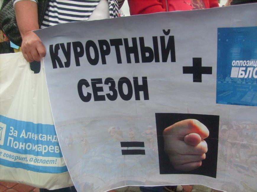 В День Конституции Бердянск митинговал, фото-2
