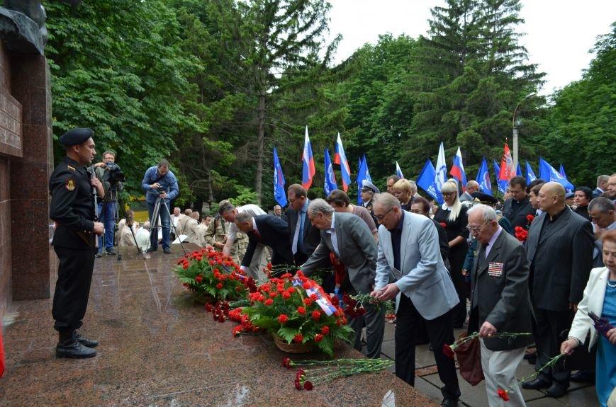 В Симферополе почтили память партизан и подпольщиков, погибших в годы войны (ФОТО), фото-11