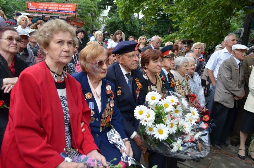 В Симферополе почтили память партизан и подпольщиков, погибших в годы войны (ФОТО), фото-7