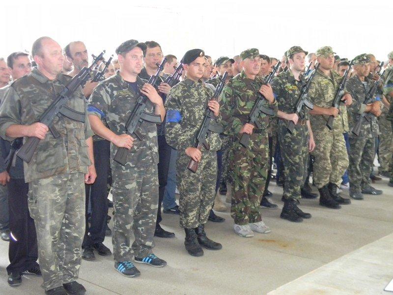 В Запорожье стрелковый батальон завершил учебные сборы (ФОТО) (фото) - фото 1