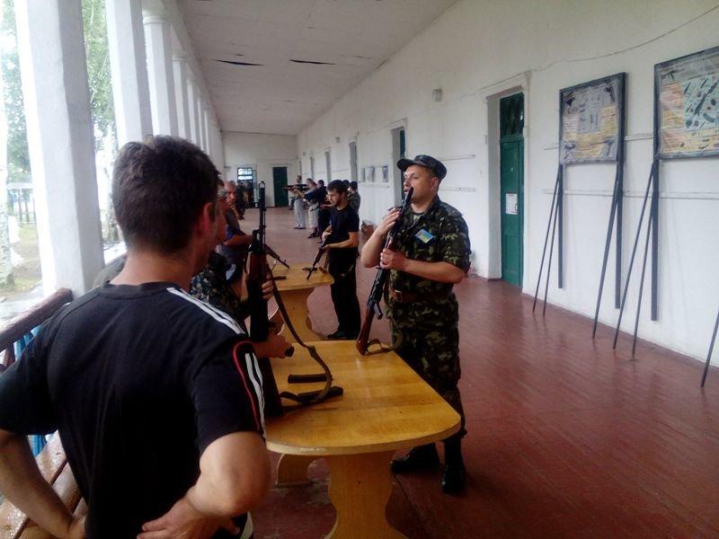 В Запорожье стрелковый батальон прошел учебные сборы (ФОТО), фото-3