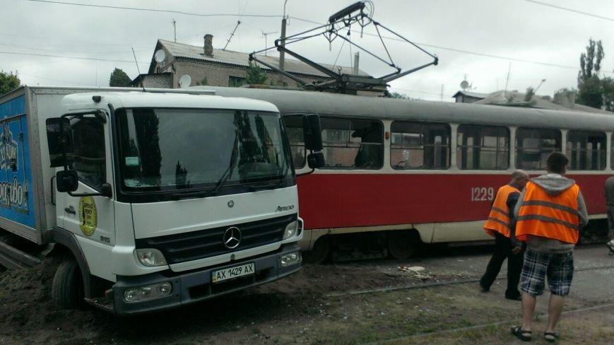 Трамвай столкнулся с грузовиком. ДТП произошло на левом берегу в Днепропетровске (ФОТО) (фото) - фото 5