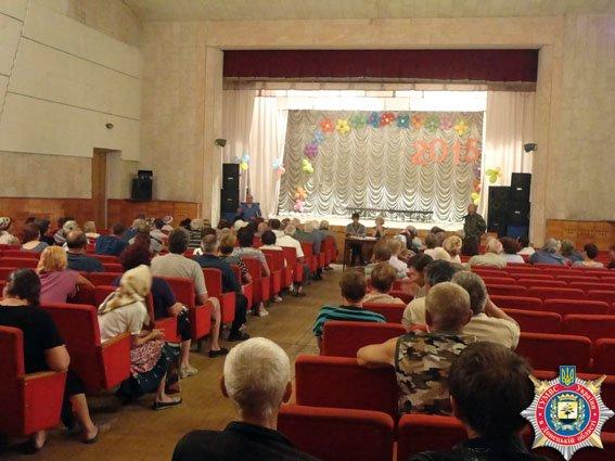 Жители с.Красное Красноармейского района обсудили проблемные вопросы своей громады (фото) - фото 1