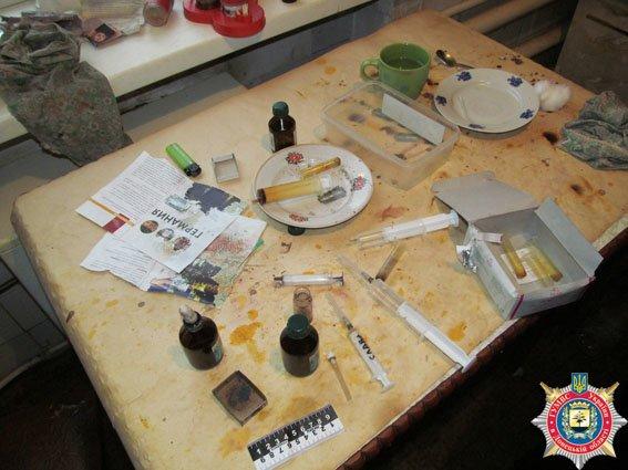 В Славянске «прикрыли» наркопритон. ФОТО (фото) - фото 1