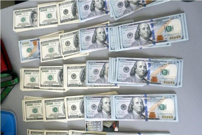 В Бобровниках задержали водителя с 25 тыс. долларов (фото) - фото 1