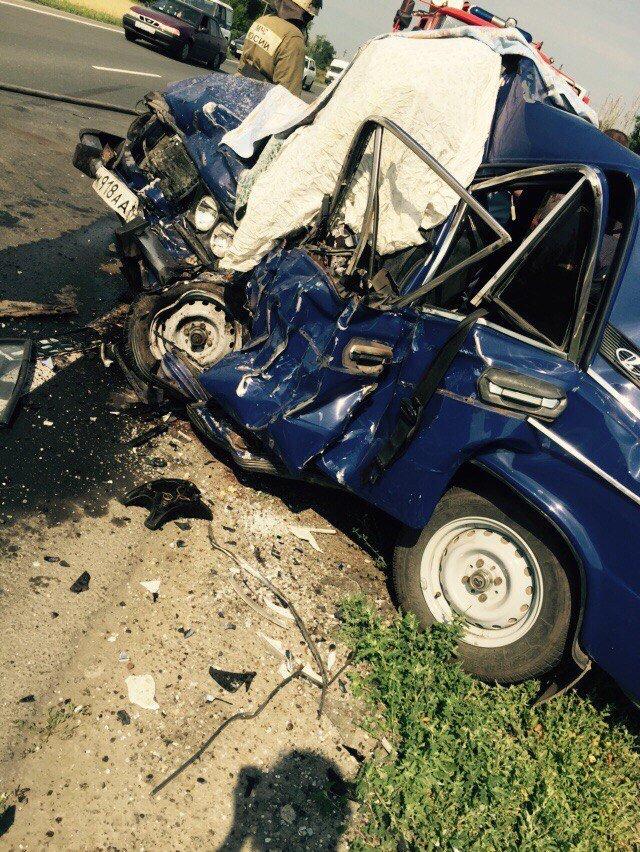 Тяжелая авария на трассе Ульяновск–Димитровград. Женщина погибла (фото) - фото 3