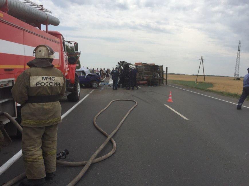 Тяжелая авария на трассе Ульяновск–Димитровград. Женщина погибла (фото) - фото 1