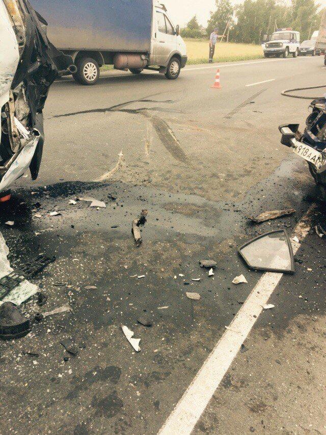 Тяжелая авария на трассе Ульяновск–Димитровград. Женщина погибла (фото) - фото 2