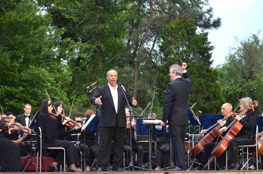 В Запорожье ко Дню Конституции под открытым небом выступил симфонический оркестр (ФОТО), фото-14